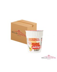 MAMA INSTANT PORRIDGE PORK CUP (CASE OF 12)